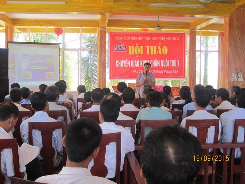Hội thảo chuyển giao KHKT chăn nuôi thú y tại Phú Thọ