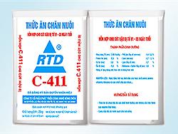 Hỗn hợp cho cút hậu bị từ 1 - 35 ngày tuổi - C411
