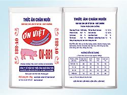 Đậm đặc cho lợn từ tập ăn - xuất chuồng - OV881