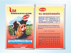 Siêu đậm đặc cho lợn từ tập ăn - xuất chuồng MX - 5