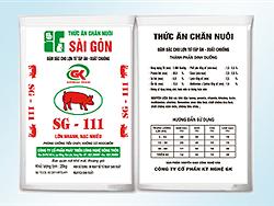 Đậm đặc cho Lợn từ tập ăn - xuất chuồng - SG111