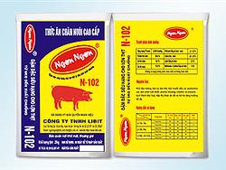 Đậm đặc siêu hạng cho lợn thịt từ 5kg - xuất chuồng - N102