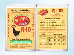Đậm đặc cho gà siêu thịt từ 1 ngày tuổi đến xuất bán - R10