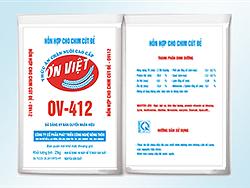 Hỗn hợp cho cút đẻ - OV412