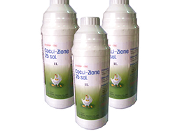 Đặc trị cầu trùng trên gà có phân sáp và máu tươi - COCCI- ZIONE 25 sol