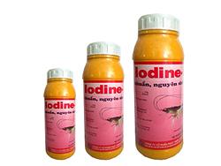 Diệt khuẩn, nguyên sinh động vật - Iodine -rt