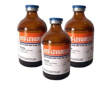 Đặc trị giun sán ở gia súc, gia cầm- RTD - LEVAMISOL