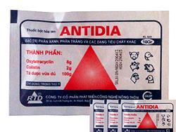 Đặc trị phân xanh, phân trắng và các dạng tiêu chảy khác - ANTIDIA