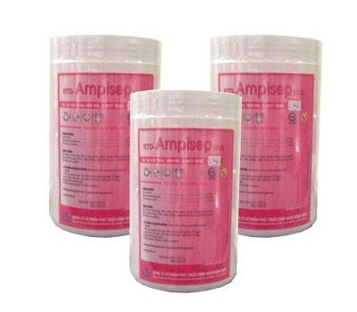 Đặc trị phân trắng, viêm phổi, tụ huyết trùng - RTD AMPISEP plus