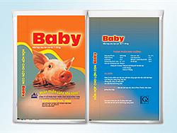 Hỗn hợp cho lợn con từ 7 - 15 kg. Baby