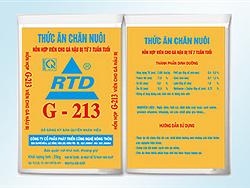 Hỗn hợp cho gà hậu bị từ 7 tuần tuổi G213