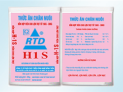 Hỗn hợp viên cho Lợn từ 15 - 30 kg H1 S