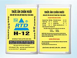 Hỗn hợp cho lợn trang trại 15 - 30 kg H12