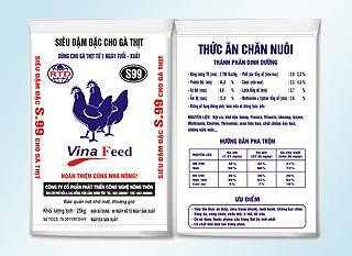 Đậm đặc gà thịt từ 1 ngày tuần tuổi - xuất chuồng S99