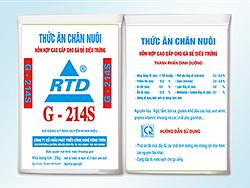 Hỗn hợp siêu đậm đặc cho gà đẻ siêu trứng G214S