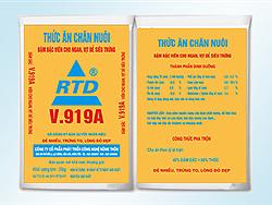 Đậm đặc viên cho Ngan, Vịt đẻ siêu trứng - V919A