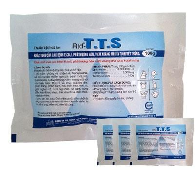 Khắc tinh của các bệnh E.coli phó thương hàn, viêm xoang mũi, tụ huyết trùng - T.T.S xanh