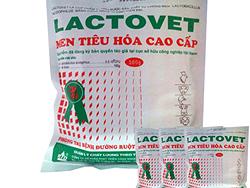 Men tiêu hóa cao cấp phòng trị bệnh đường ruột, sưng phù đầu - LACTOVET