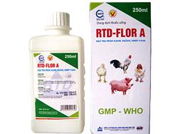Đặc trị phân xanh, trắng, nhớt vàng - RTD-FLOR A