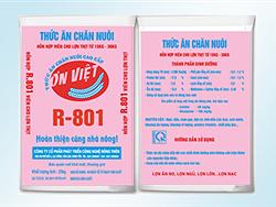 Hỗn hợp viên cho lợn thịt từ 15 - 30 kg R801
