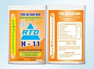 Hỗn hợp cao cấp cho lợn con Siêu thịt RTD H-11