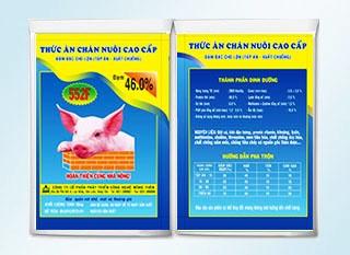 Thức ăn chăn nuôi cao cấp đậm đặc cho lợn 552F