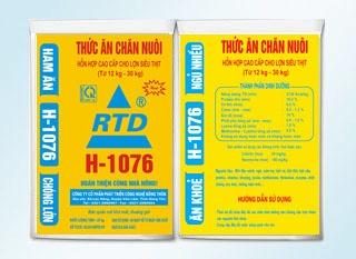 Hỗn hợp cao cấp cho lợn siêu thịt ( từ 12- 30kg) RTD H-1076