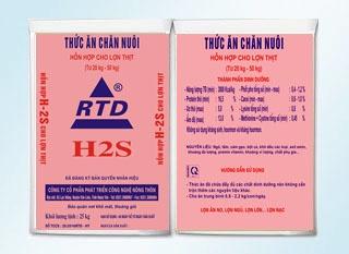 Hỗn hợp cao cấp cho lợn thịt RTD H2S