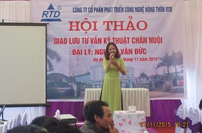 Giao lưu tư vẫn kỹ thuật chăn nuôi - Đại lý Nguyễn Văn Đức